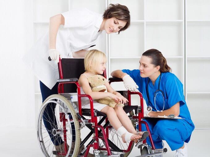 медицинское обслуживание для детей