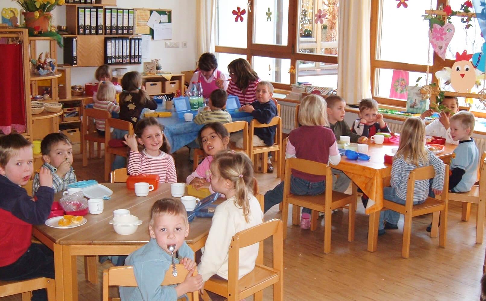 Льготное питание и содержание детей в саду